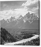Grand Teton Canvas Print