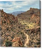 Grapevine Mountain Trail Canvas Print