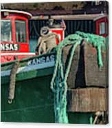 Great Lakes Towing Tug Kansas Canvas Print