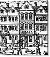Great Plague Of London Canvas Print
