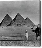 Great Pyramids Of Egypt Canvas Print