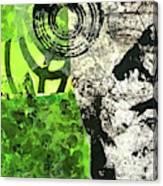Green Balance No. 3 Canvas Print