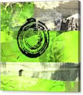 Green Balance No. 4 Canvas Print