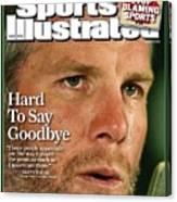 Green Bay Packers Qb Brett Favre, March 17, 2008 Sports Sports Illustrated Cover Canvas Print