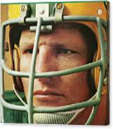 Green Bay Packers Ray Nitschke Sports Illustrated Cover Canvas Print