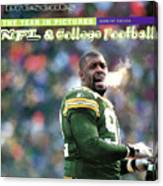 Green Bay Packers Reggie White, 1997 Nfc Championship Sports Illustrated Cover Canvas Print