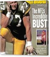 Green Bay Packers Tony Mandarich... Sports Illustrated Cover Canvas Print