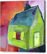 Green House- Art By Linda Woods Canvas Print