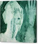 Green Portrait Canvas Print