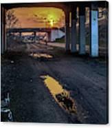 Greenway Sundown Canvas Print