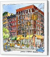 Greenwich Village Laundromat Canvas Print