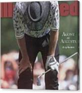 Greg Norman, 1996 Masters Sports Illustrated Cover Canvas Print