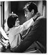 Gregory Peck And Mary Badham In To Kill Canvas Print