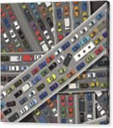 Gridlock Canvas Print