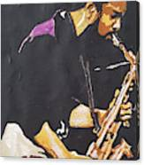 Grover Washington Jr Canvas Print