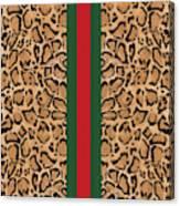 Gucci Leopard Print-1 Canvas Print