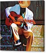 Guitar player #3 Canvas Print