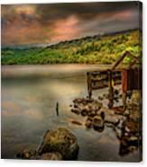 Gwynant Lake Old Boat House Canvas Print