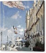H  Tel Des Roches Noires  Trouville  Canvas Print
