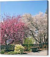Springtime At Untermyer Park Canvas Print
