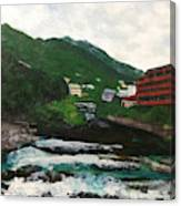 Hakone In Natural Splendor Canvas Print