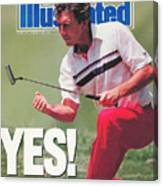 Hale Irwin, 1990 Us Open Sports Illustrated Cover Canvas Print