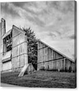 Halifax Explosion Memorial Bell Tower Bw Canvas Print