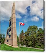 Halifax Explosion Memorial Bell Tower Canvas Print