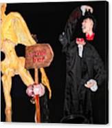 Halloween Party Canvas Print