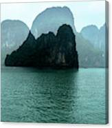 Halong Bay Mountains, Vietnam Canvas Print