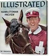 Hambletonian Harness Preview Sports Illustrated Cover Canvas Print