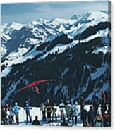 Hang Gliding Canvas Print