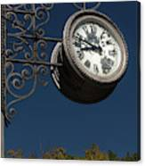 Hanging Clock Canvas Print