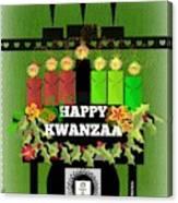 Happy Kwanzaa Canvas Print
