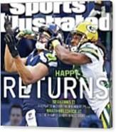 Happy Returns Seahawks II, Brady-belichick Vi Sports Illustrated Cover Canvas Print