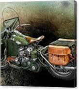 Harley Davidson 1942 Experimental Army Canvas Print