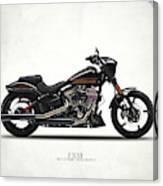 Harley Fxse Canvas Print