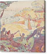 Harmonious Times By Signac Canvas Print