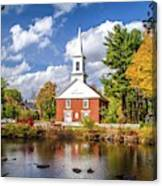 Harrisville, New Hampshire Church Canvas Print