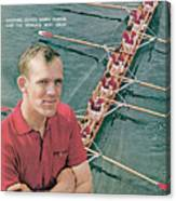 Harvard University Crew Coach Harry Parker Sports Illustrated Cover Canvas Print