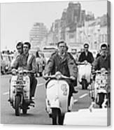 Hastings Mods Canvas Print