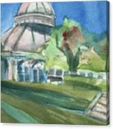 Haupt Conservatory At Nybg Canvas Print