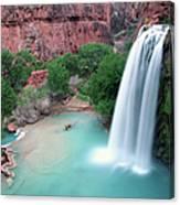 Havasu Falls Landscape Canvas Print