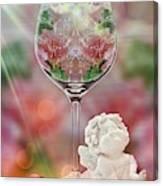 Heavenly Valentine Canvas Print