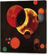 Heavy Circles Painting by Wassily Kandinsky