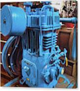 Heavy Duty Machine Canvas Print