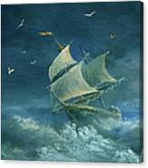 Heavy Gale Canvas Print
