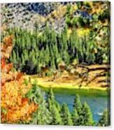 Hello Autumn Canvas Print
