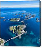 Henningsvaer, Fishing Port On Lofoten Canvas Print