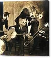 Hep Cats Canvas Print